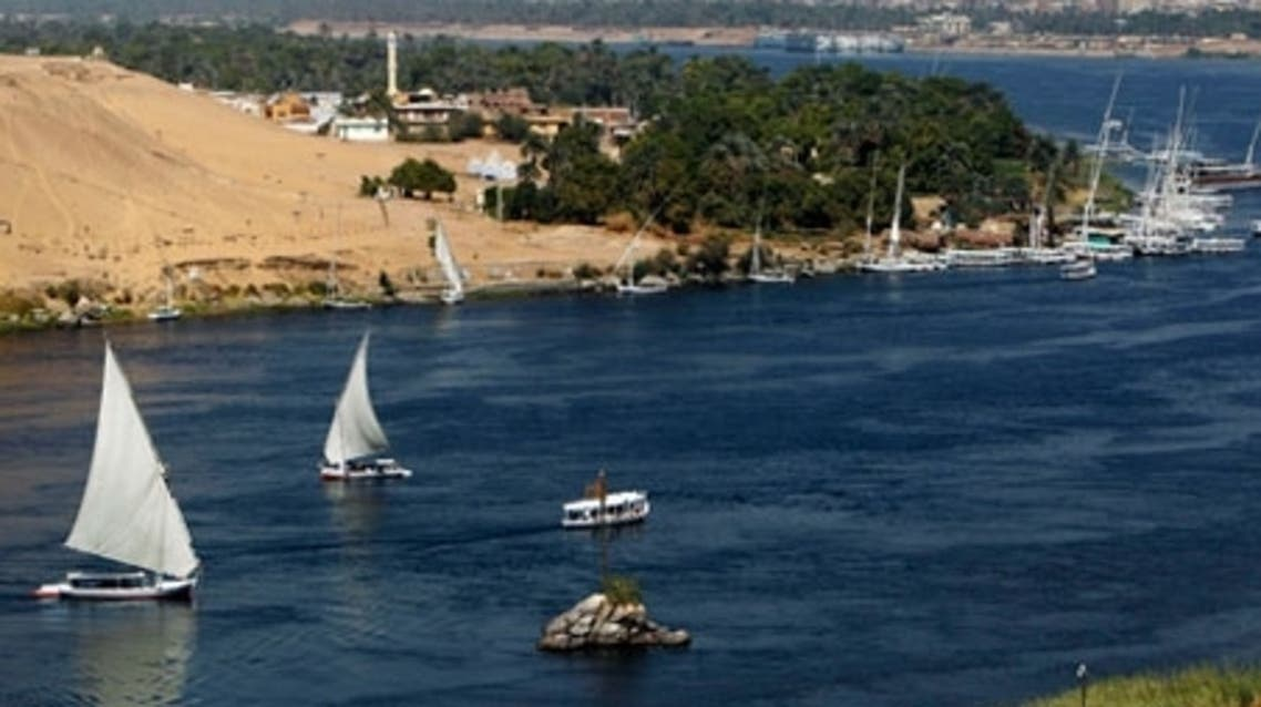 Traditional Egyptian 'Felucca' boats sail on the Nile River in the Upper Egyptian city of Aswan. (Reuters)