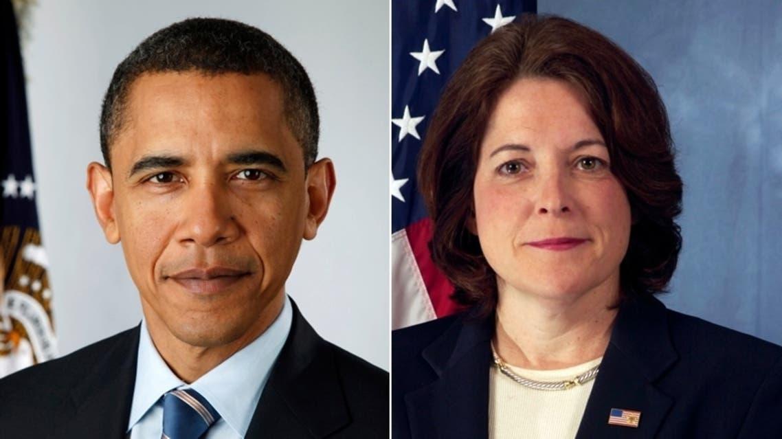 Julia Pierson and obama