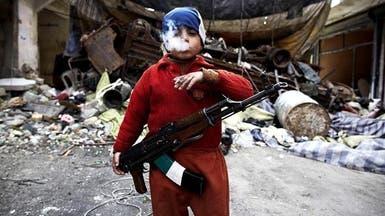 طفل في السابعة.. أصغر مقاتل في الثورة السورية
