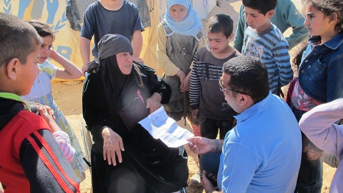 محمد العرب واللاجئيين السوريين 1