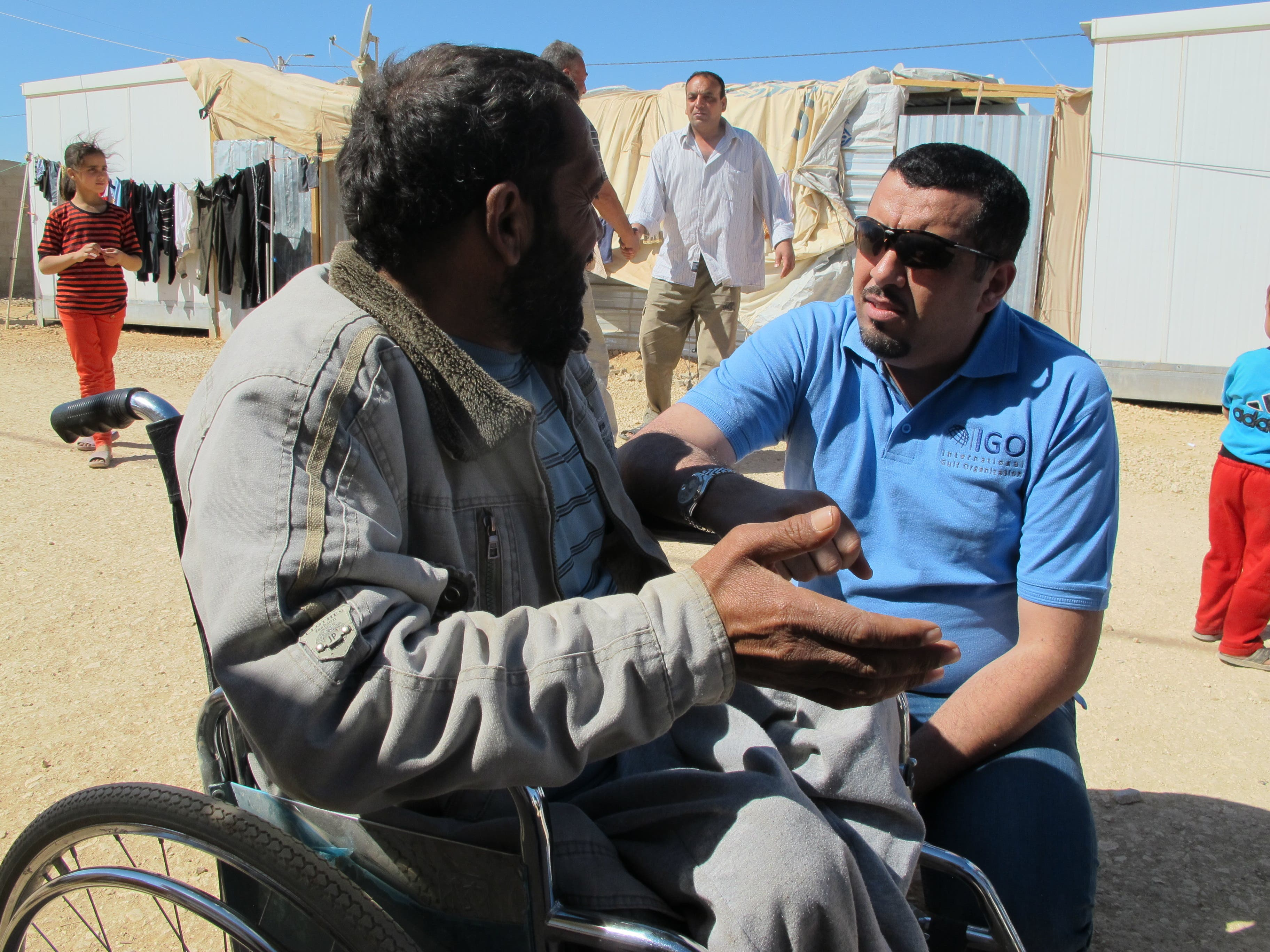 محمد العرب واللاجئيين السوريين 2