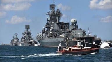 روسيا تجري مناورات عسكرية ضخمة بالبحر الأسود