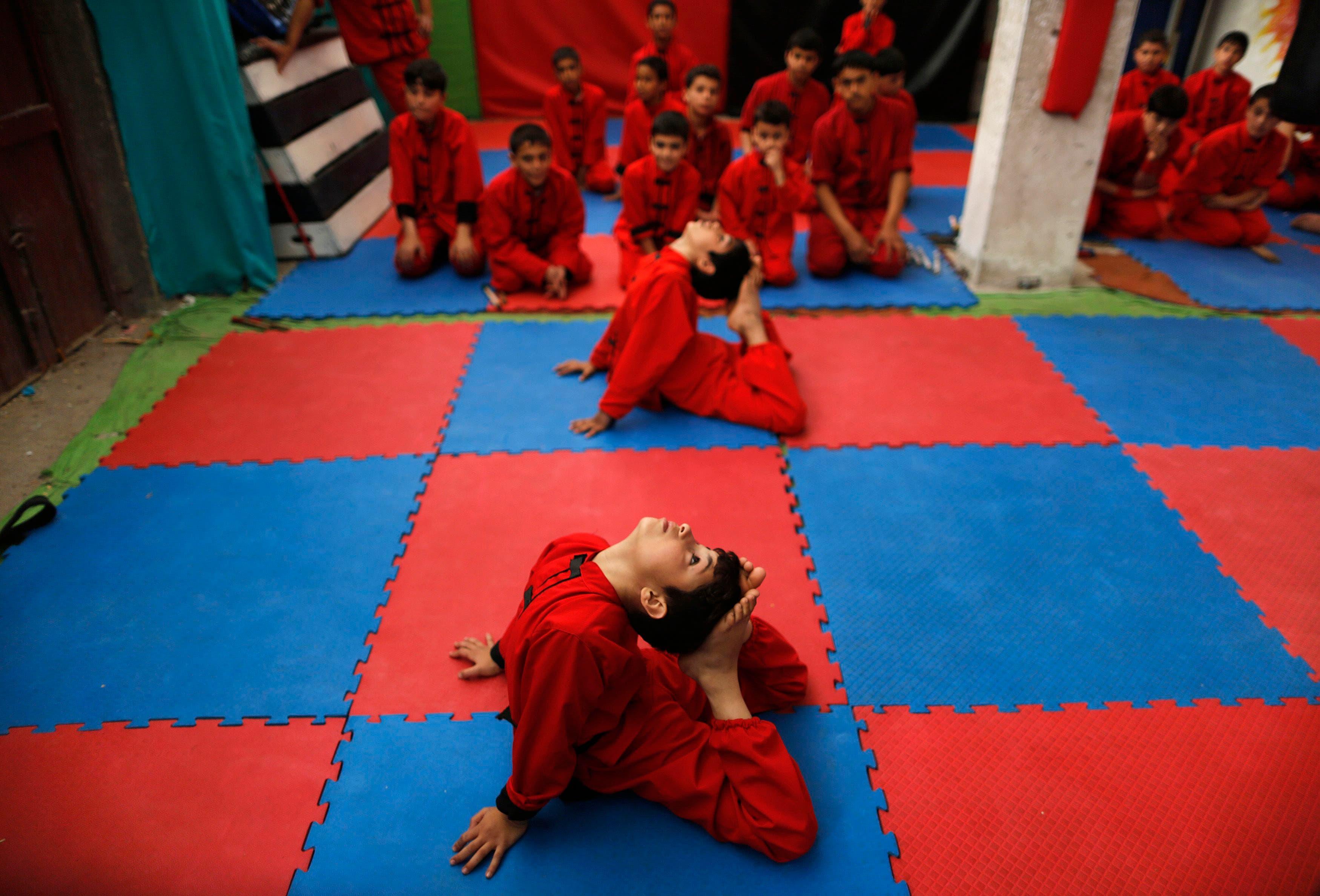 Red Dragon martial arts club in Palestine