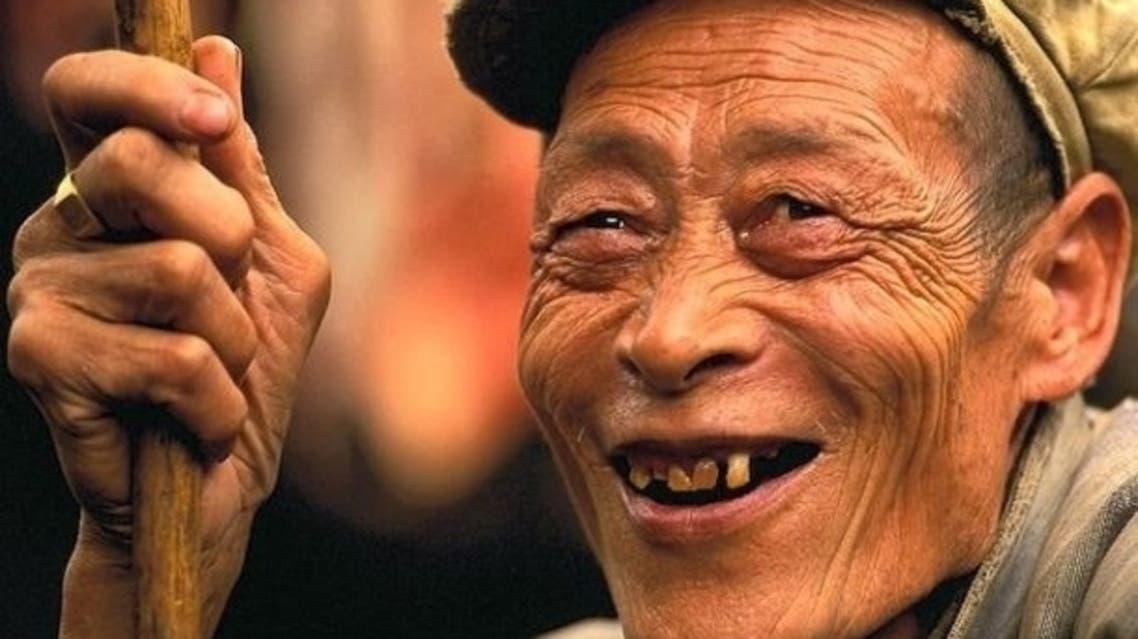مسن ياباني