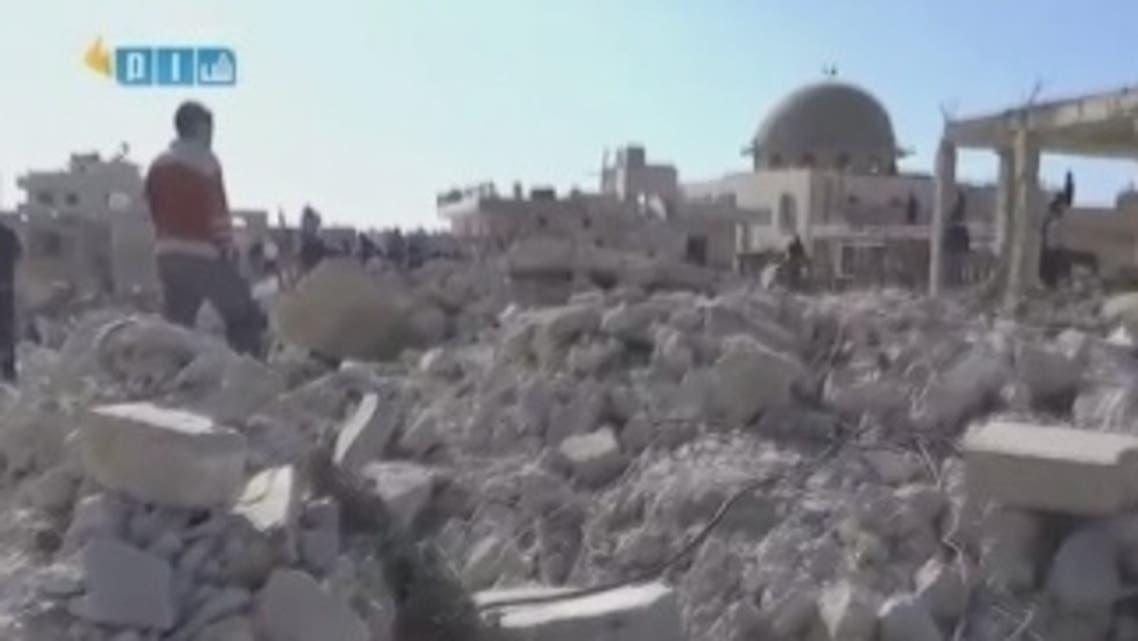 Aleppo destruction