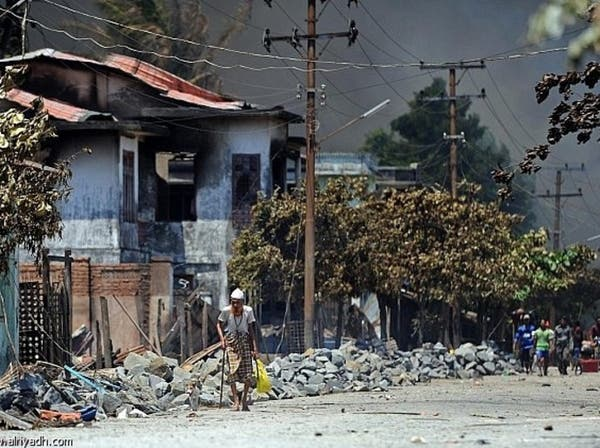 العنف الديني في بورما يقتل 43 شخصاً خلال 10 أيام