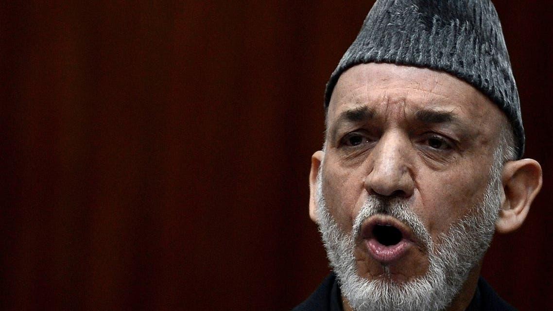 karzai afghanistan AFP