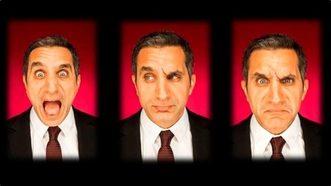 Egypt's best-known satirist, Bassem Youssef