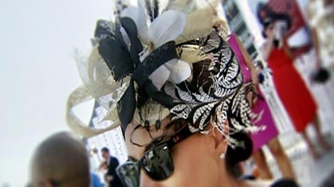 Dubai workd cup races hats fashion Al arabiya