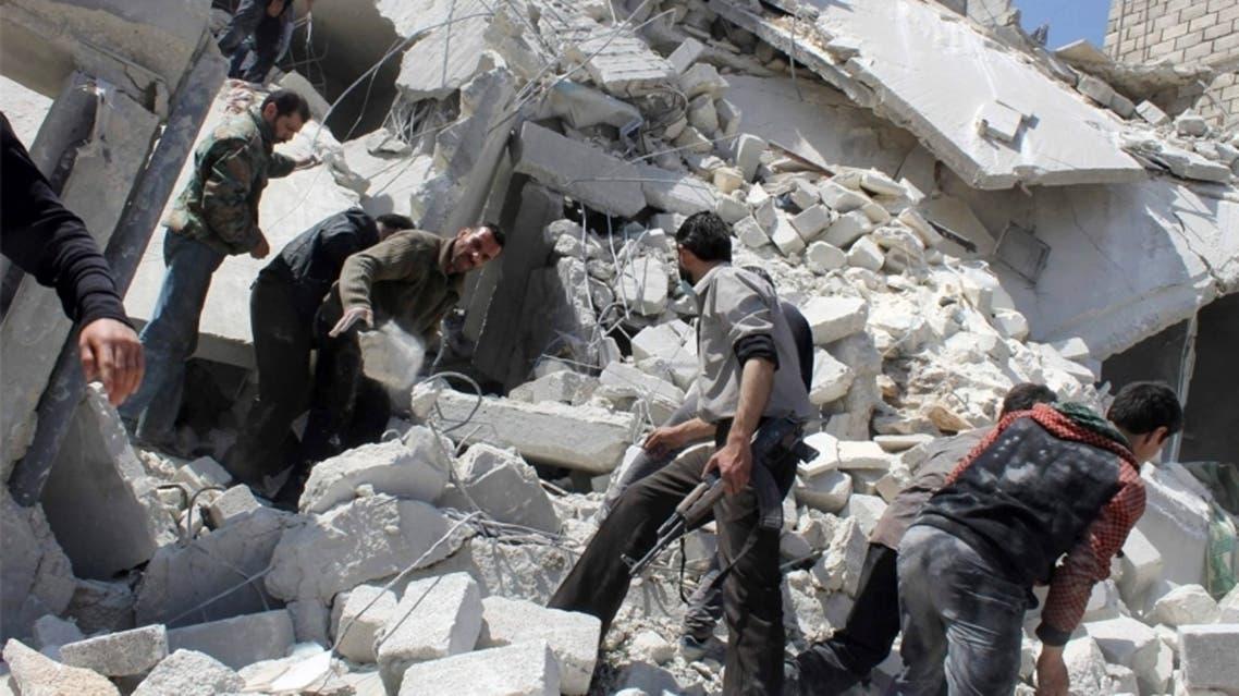 قوات النظام السوري ترتكب 8 مجازر بدمشق وحمص خلال ساعات