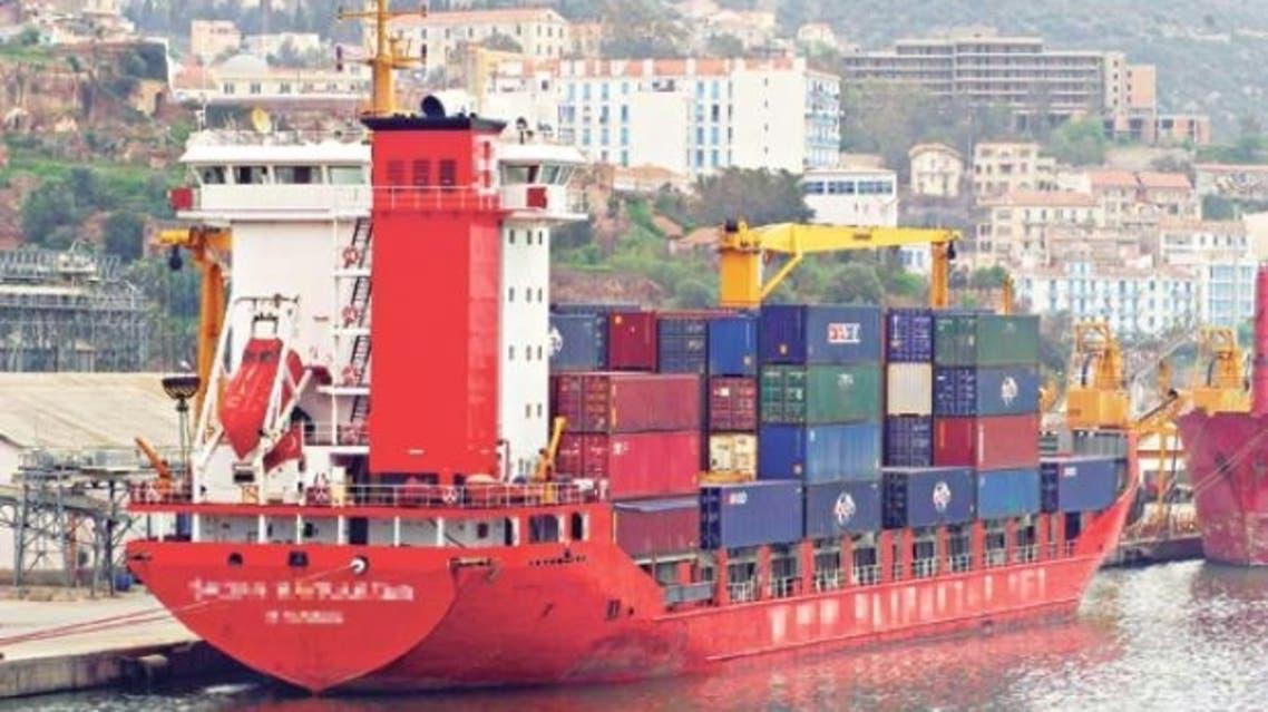 احتجاز باخرة ليبية في ميناء بجاية