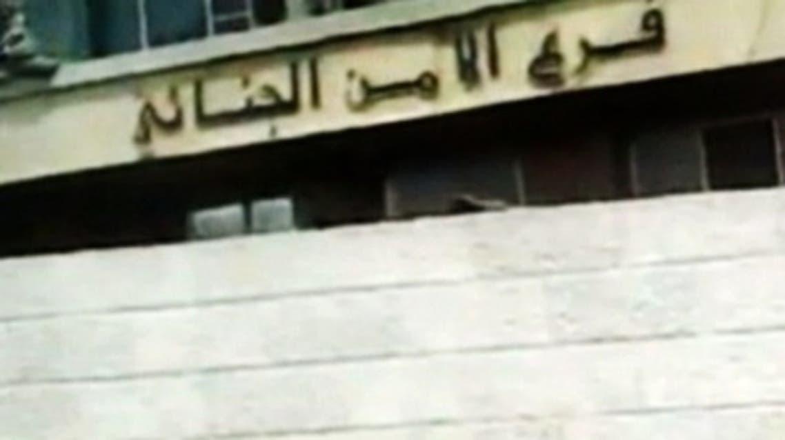 Syria wall Al Arabiya.net file photo
