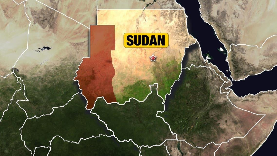 SUDAN AP MAP