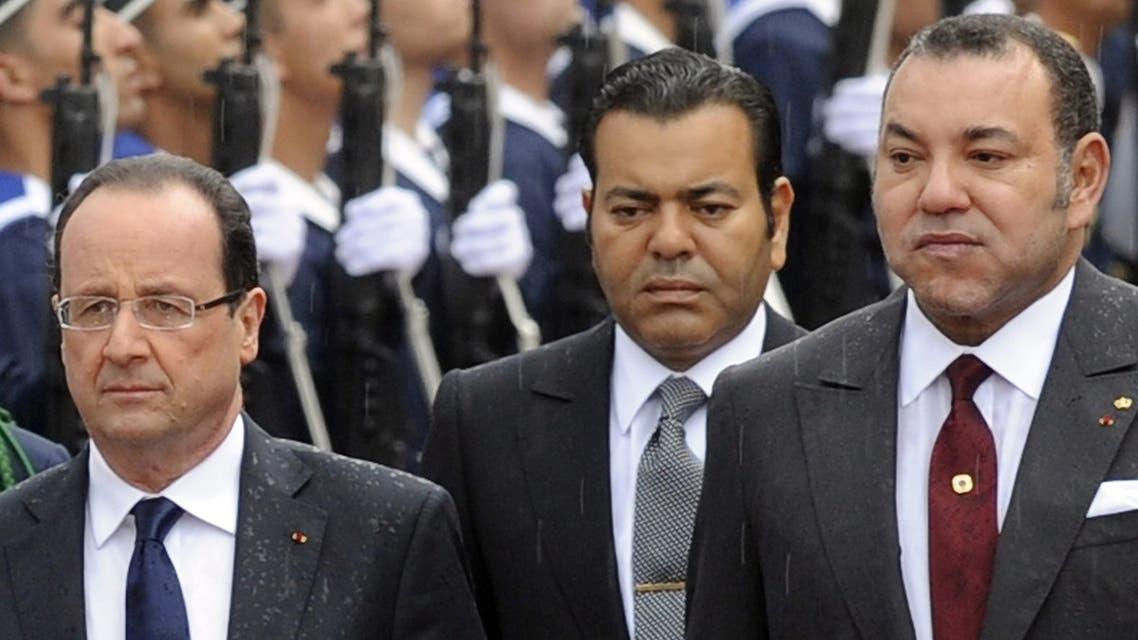 Hollande in CasaBlanca AFP
