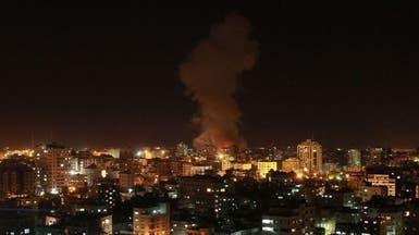 إسرائيل تقصف غزة بغارة هي الأولى منذ تهدئة نوفمبر