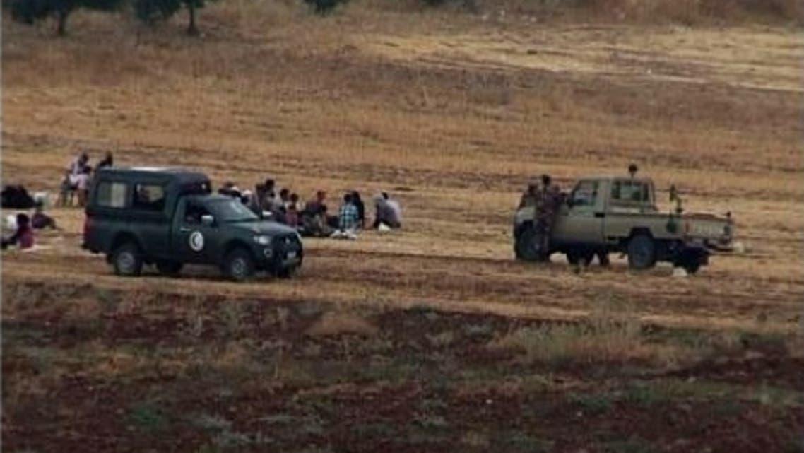 الحدود السورية الاردنية
