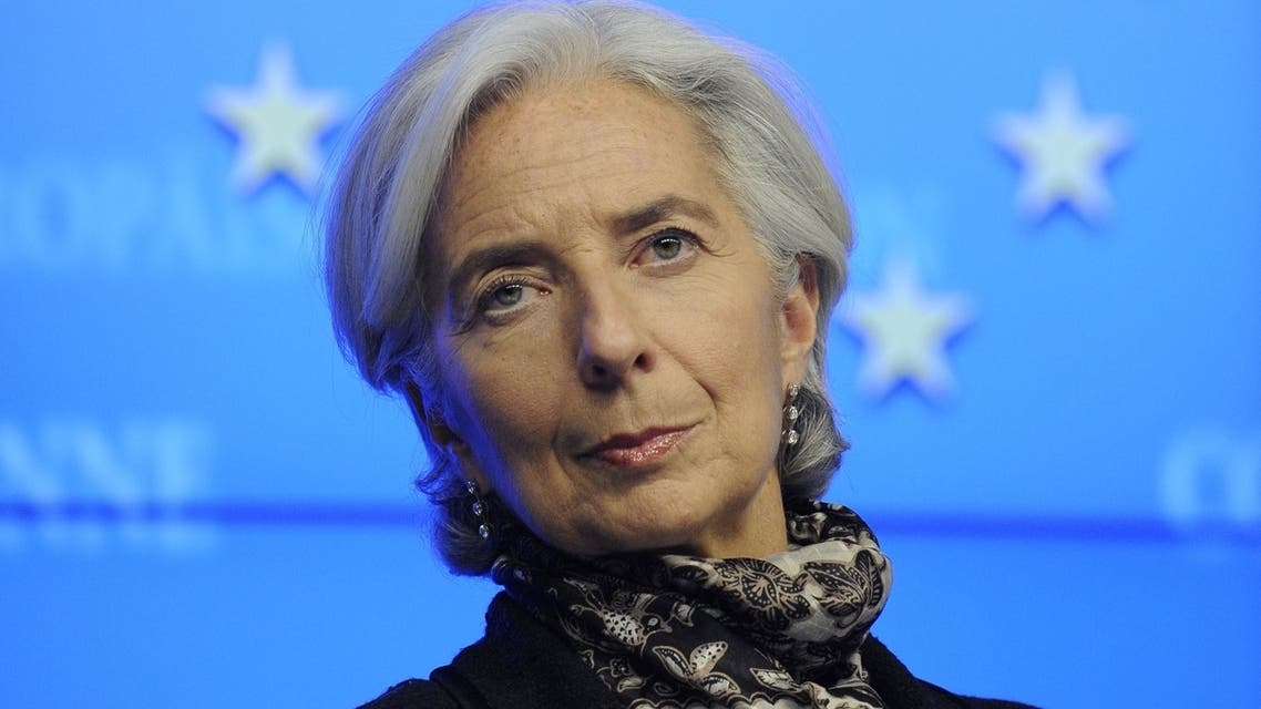 International Monetary Fund (IMF) Managing Director Christine Lagarde. (AFP)