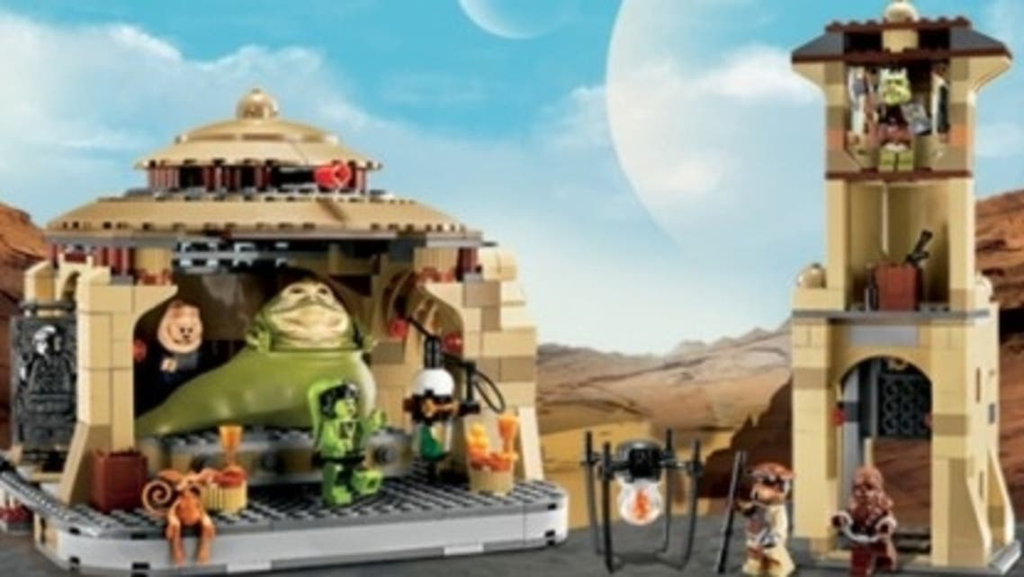 Lego denied the production cancellation of the Jabba Hutt is due to complaints made by a Turkish group in Austria. (Courtesy: Lego)
