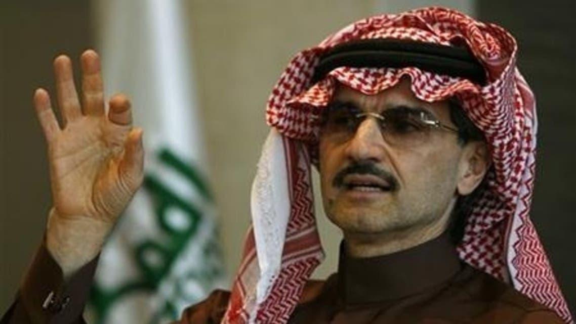 Saudi Arabia's Prince Alwaleed (Reuters)