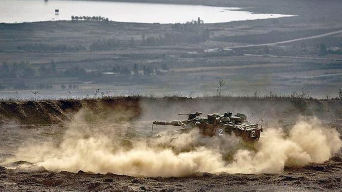 Israeli Tanks AFP