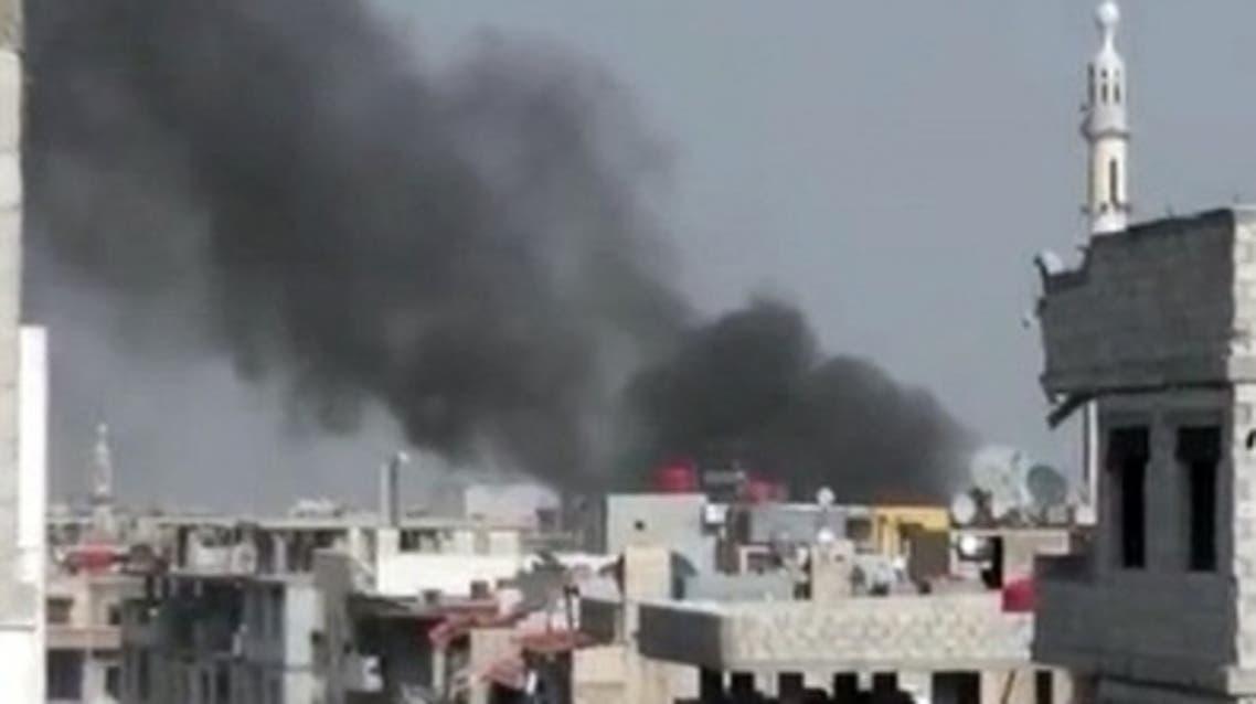 Syria Daraa Al Arabiya