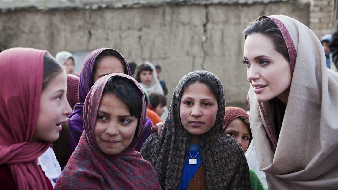 انجلينا جولي افغانستان