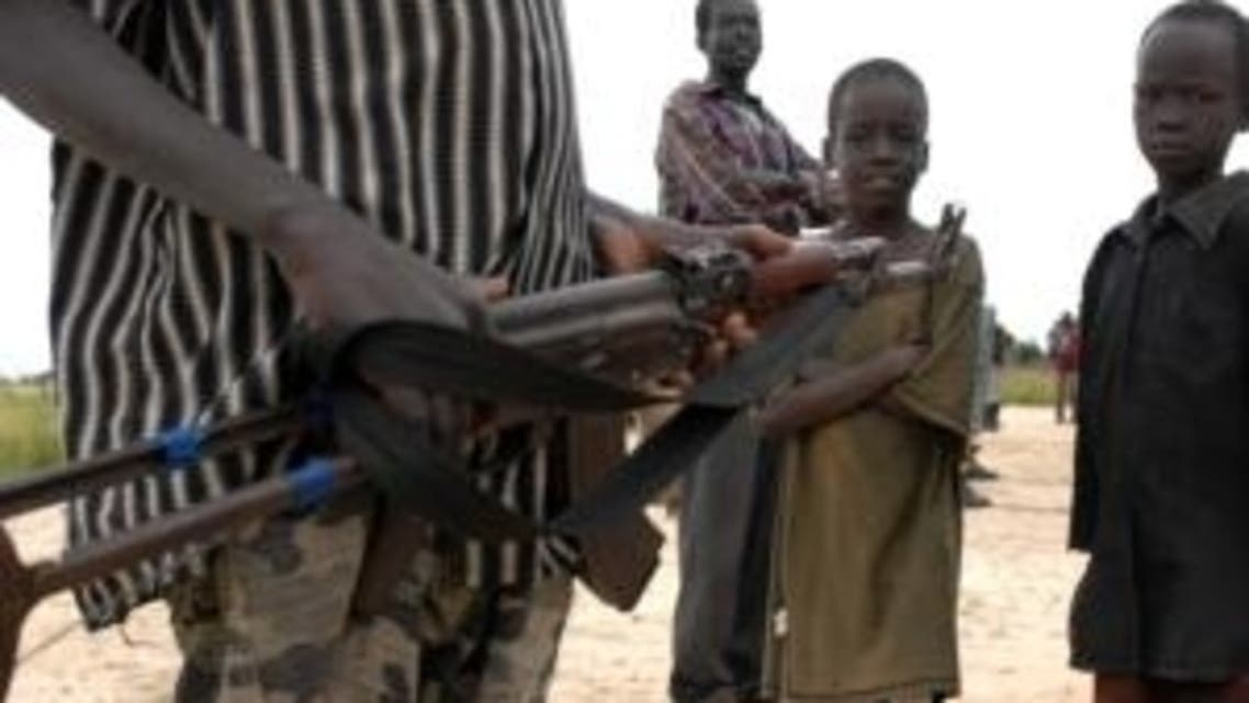The people of Walgak a small village north of Juba are bitter over a massacre in February in which over 100 people were shot, speared or hacked to death. (AFP)