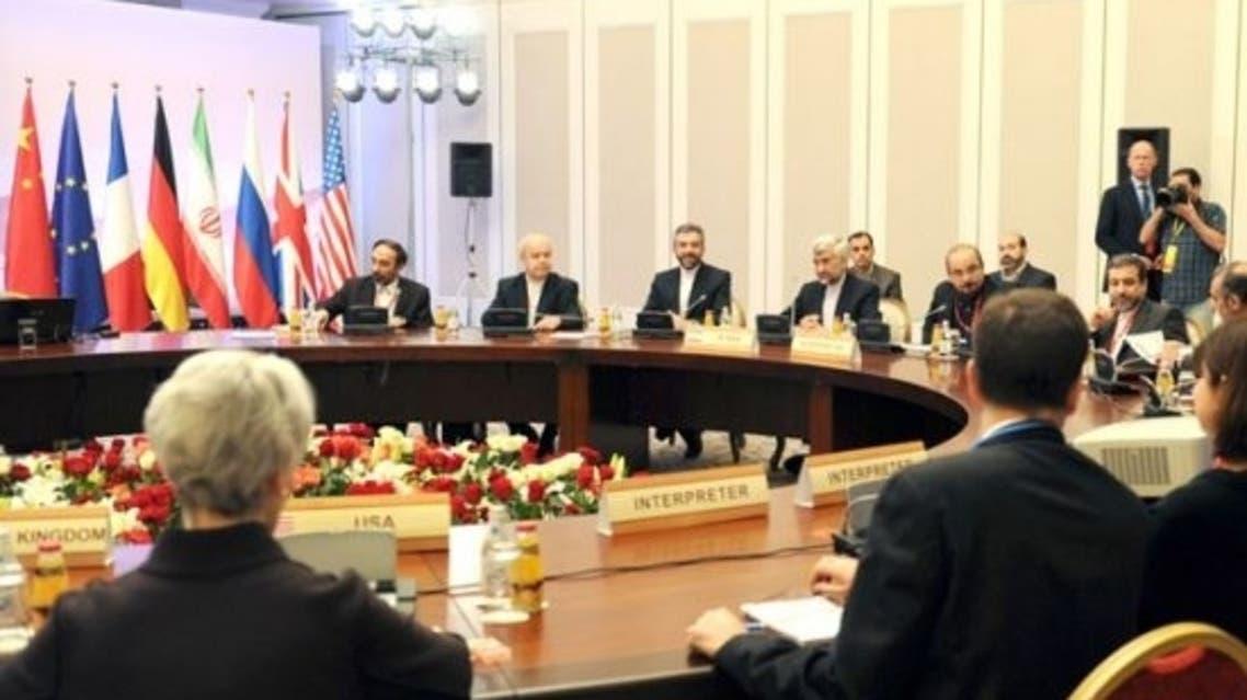 الاجتماع السابق في ألماتي بين إيران والدول الكبرى