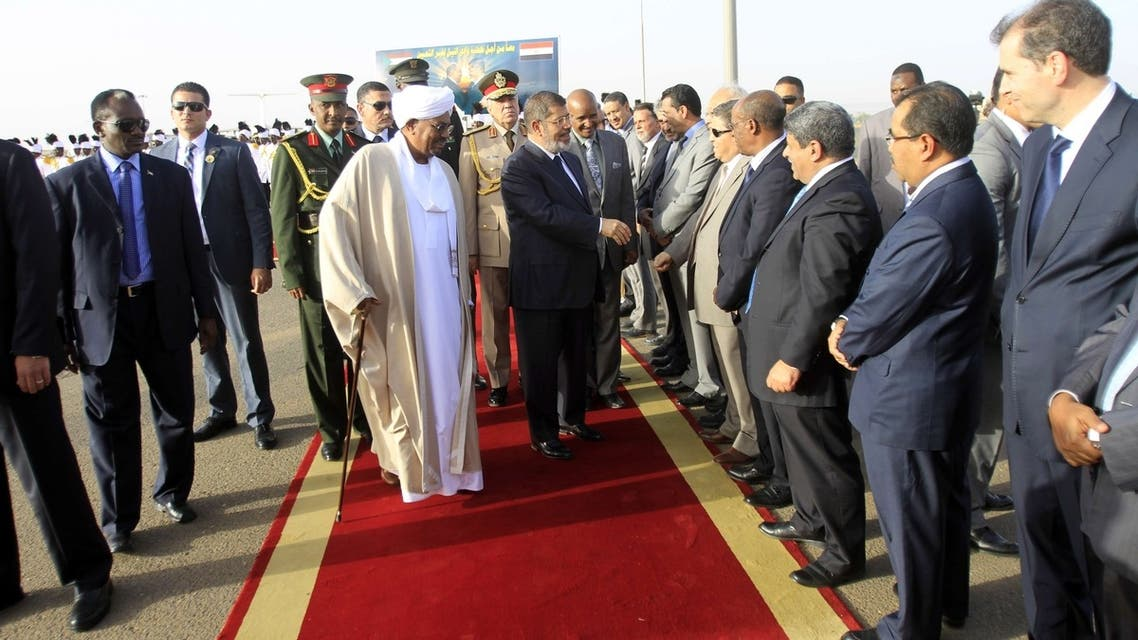 Egypt president's 'historic' visit to Sudan