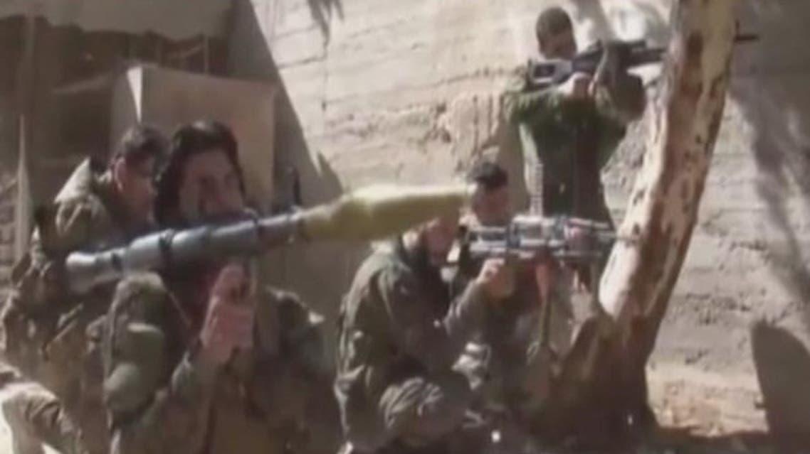 Shiite fighters Syria Al Arabiya