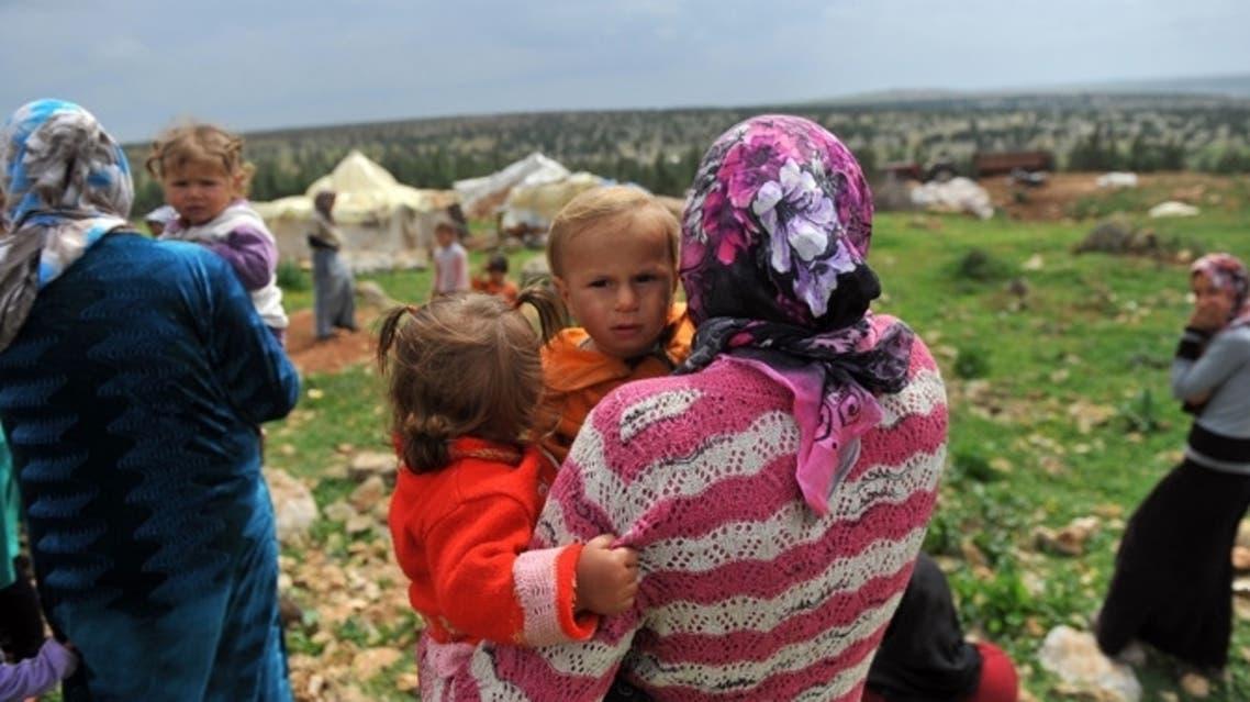 Syrian refugee AFP