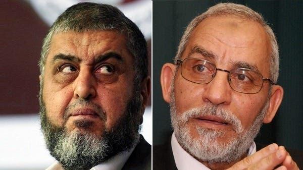 """تأييد المؤبد لمرشد الإخوان والشاطر بقضية """"مكتب الإرشاد"""""""