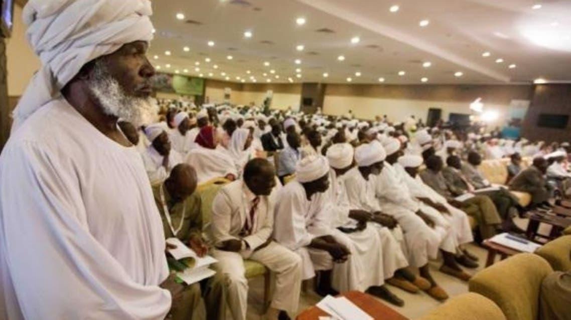 Displaced Darfur AFP