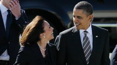 """أوباما يصف وزيرة بأنها """"الأجمل بلا منازع"""" ثم يعتذر"""