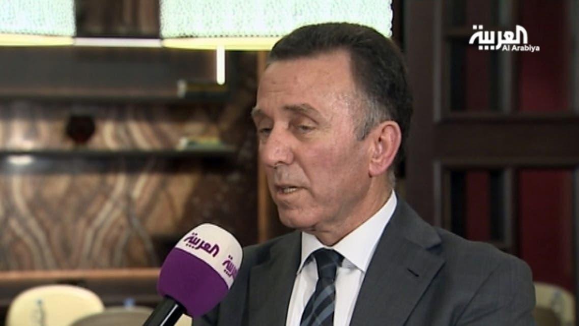 وزير الاقتصاد الفلسطيني الدكتور جواد الناجي