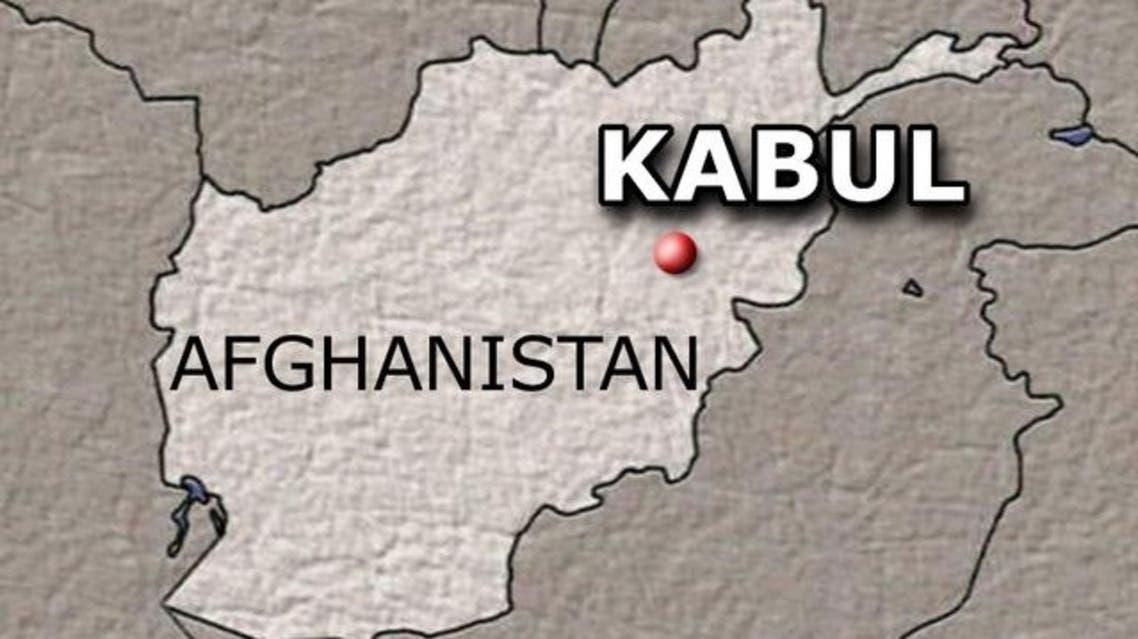 Kabul MAP Afghanistan (AP)