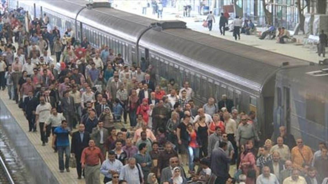 قطارات - مصر - إضراب 2