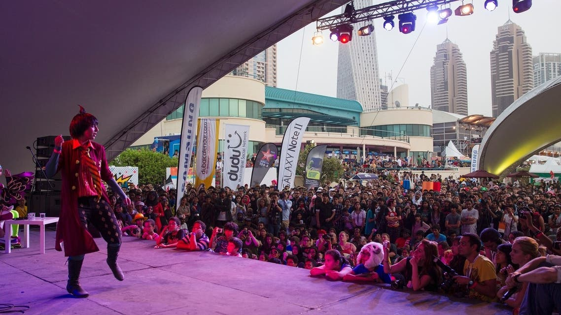 The second annual Middle East Film and Comic Convention (MEFCC) was in full swing Saturday at the Marine Club in Dubai. (Photo credit: Sara Brittany Somerset)