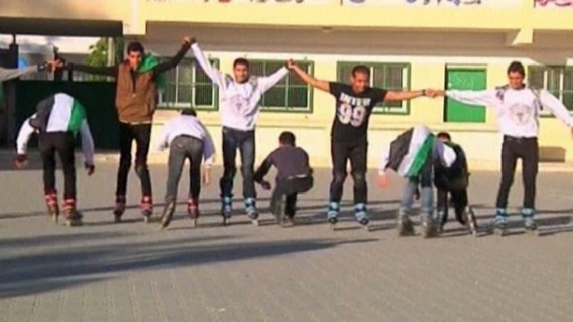 Gaza Skating Reuters