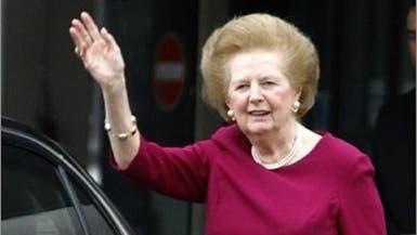 """جلطة دماغية توقف مسيرة سيدة بريطانيا """"الحديدية"""""""