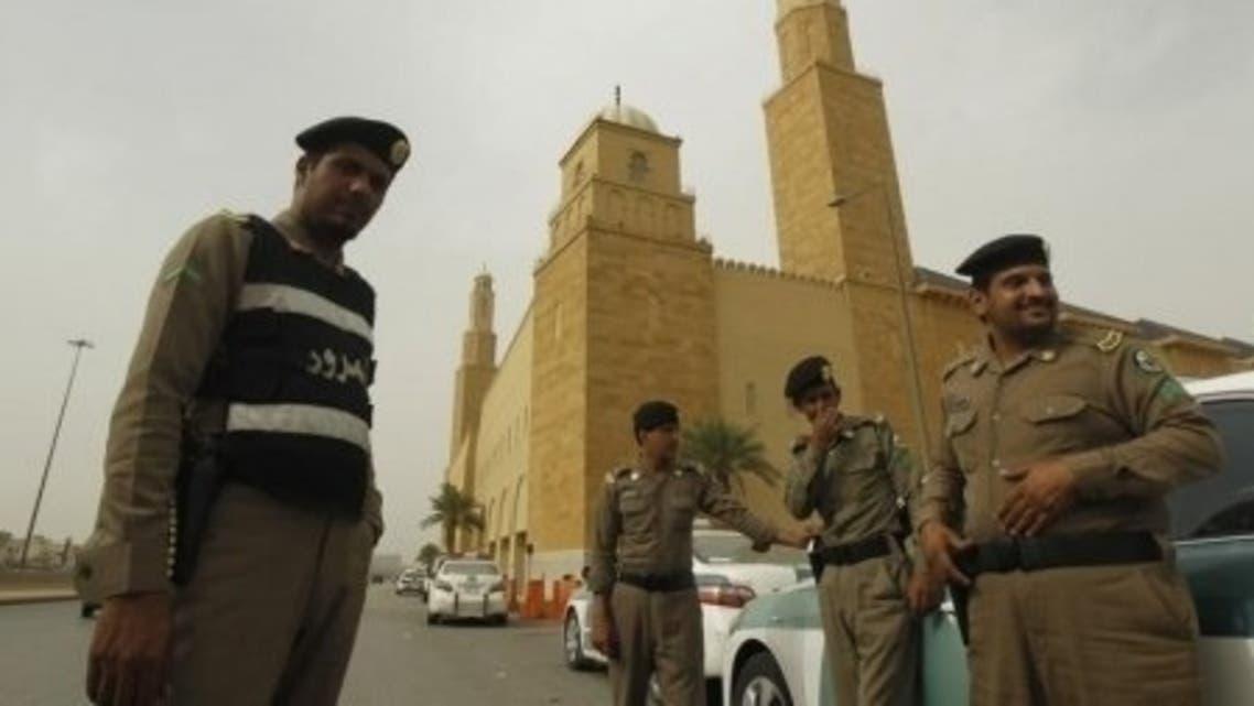 Saudi cops