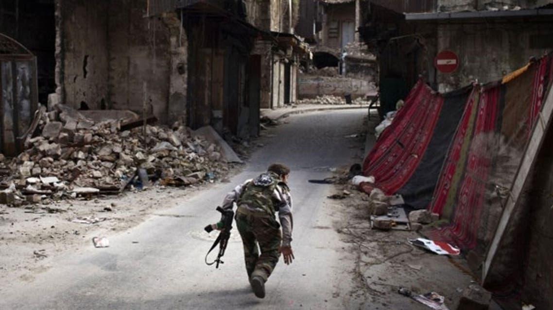 Syria Rebel AFP