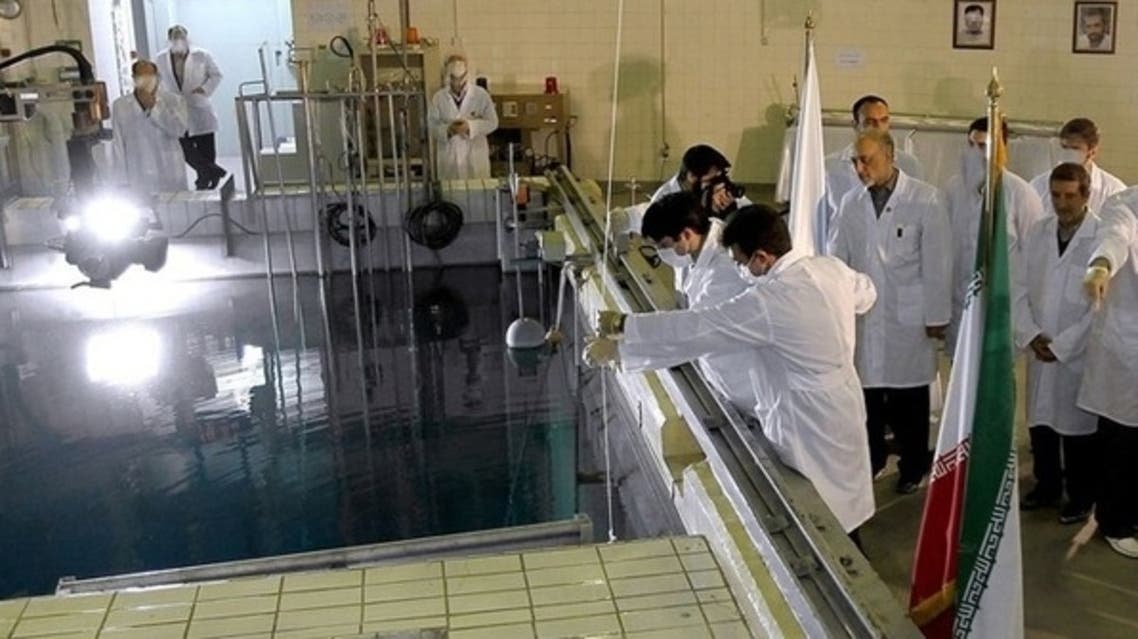 The United States reacted with concern on Wednesday after Iran unveiled a new uranium production facility and two extraction mines. (AFP)