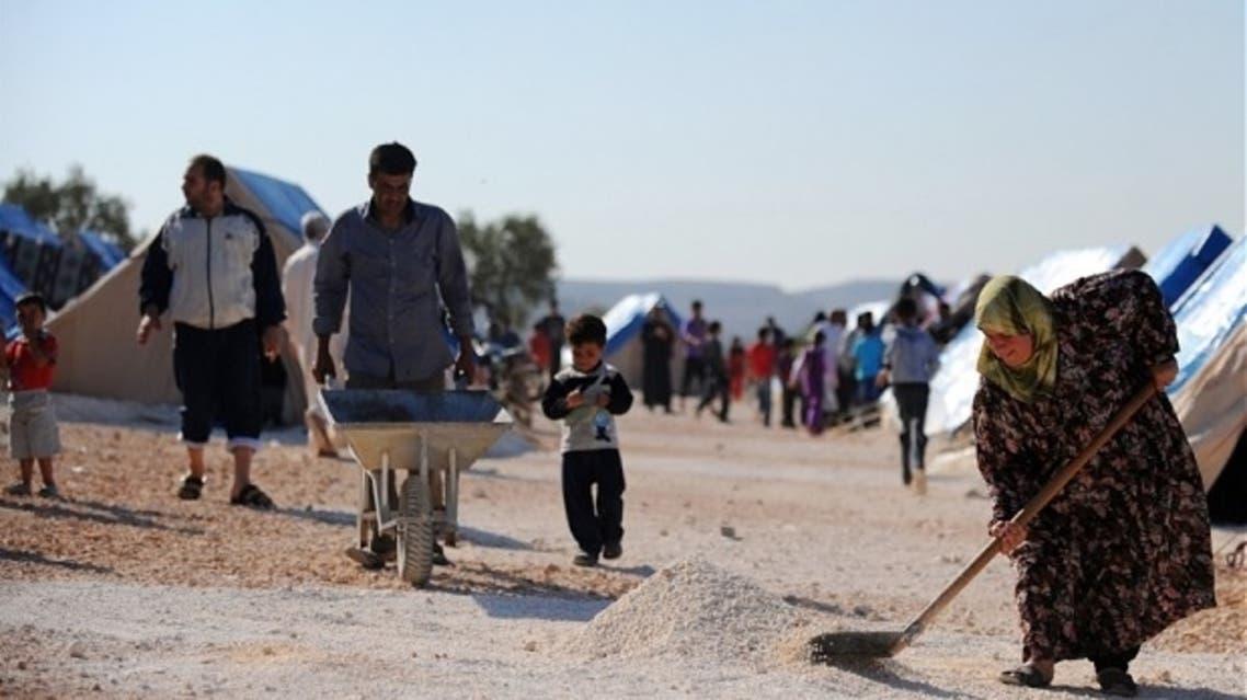 Syrian refugees in Turkey camp (AFP)