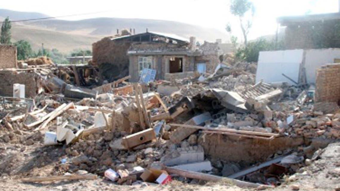 Iran earthquake Reuters