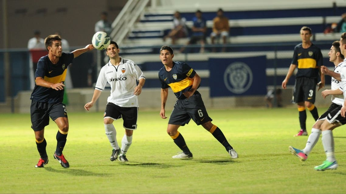 Valencia FC defeated Boca Juniors of Argentina who are favorite to win the competition in a 4-2 win at the Al Nasr club on Tuesday. (Courtesy: Press Release)