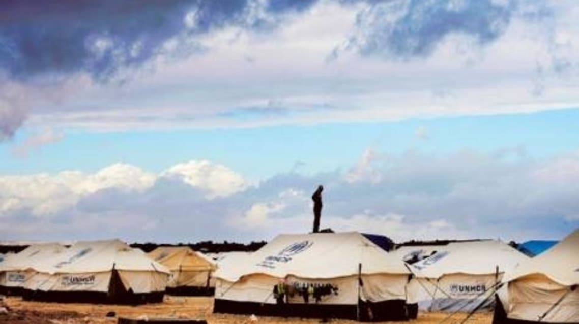 Jordan opened a second camp for Syrian refugees on Wednesday. (AFP)