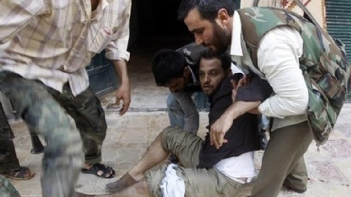 At least 61 Syrians were killed on Thursday after troops stormed the contested town of al-Sanamein in the southern province of Deraa. (Reuters)