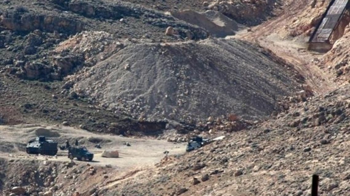 Arsal Lebanon border with Syria AFP
