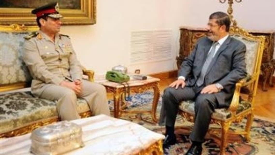 Mursi Egypt army